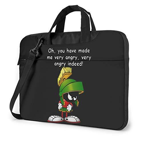 Marvin The Martian Laptop Sleeve Bag Ultra Portable Tablet Briefcase Handbag Protective Shoulder Canvas Cover