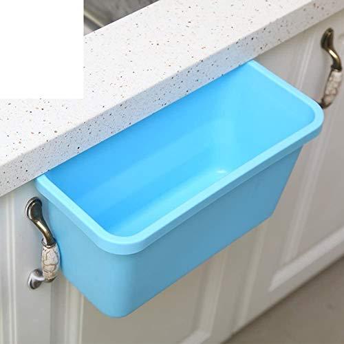 HJKL Verdikte vuilnisbak Afvalbakken, Afvalbakken voor keukens Kast [ophangen] Kunststof Rechthoek vuilnisbak Eenvoudige moderne high-end vuilnisbak