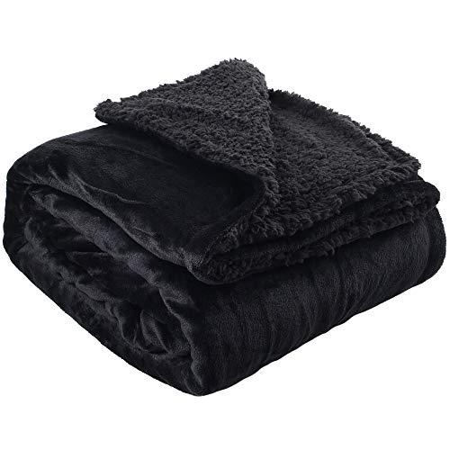 colcha negra sofa de la marca LotFancy