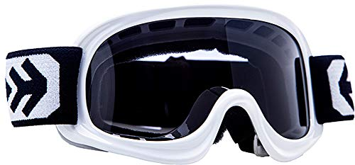 ARMOR Helmets AG-49 Gafas Cross Moto, Ninos, Blanco