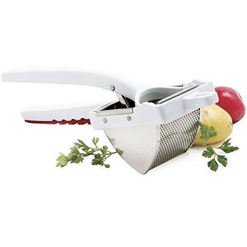 Norpro 468 Cast Aluminum Deluxe Potato Ricer, 1 EA, White