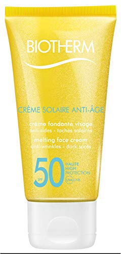 Biotherm Creme Solaire Anti-Age SPF50 Melting Face Cream Unisex, Gesichtspflege, 1er Pack (1 x 50 ml)