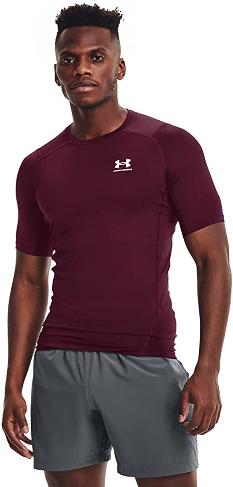 Under Armour Men's Indianapolis Mall HeatGear Short-Sleeve Ranking TOP11 T-Shirt Compression