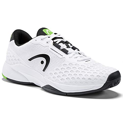 HEAD Herren Revolt Pro 3.0 Men Tennisschuh, White/Black, 42 EU