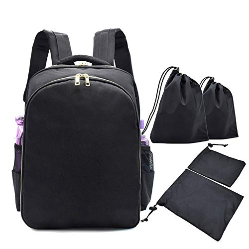 Centeraly Friseur Rucksack, Stylist Multifunktions Friseur Rucksack Tragbare Reise Cosmetic...