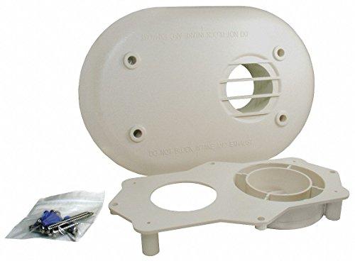 "RHEEM Plastic Horizontal Vent Termination Kit 2"", for Use with: Rheem Tankless Heaters"