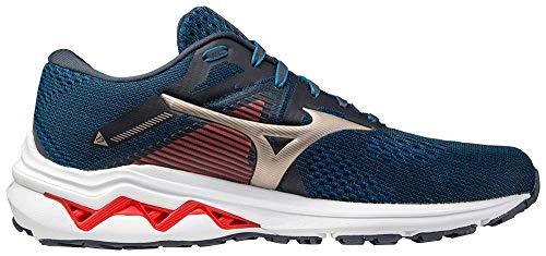 Mizuno Men's Wave Inspire 17 Running Shoe, India Ink, 11