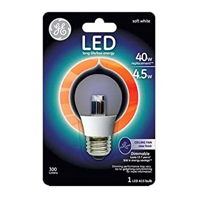 GE Lighting Bulb with Medium Base, 1 Pack