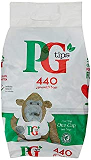 PG Tips One Cup Pyramid Breakfast Tea Bags, Large Pack Of 440 Teabags, Refreshing And Delicious Cups Of Tea For Any Occasion, Great For Tea Lovers, Everyday Home, Catering And Office (B000I6LWHG) | Amazon price tracker / tracking, Amazon price history charts, Amazon price watches, Amazon price drop alerts