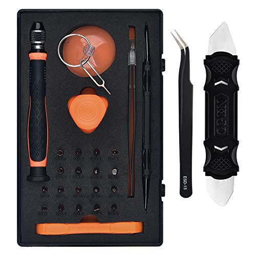 Sainwora 26Pcs Precision Screwdriver Set Electronic Repair Kit Opening Tools For iPhone, Macbook, iPad
