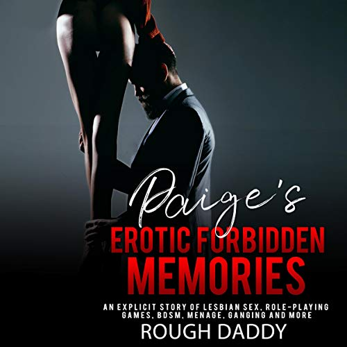 Paige's Erotic Forbidden Memories audiobook cover art