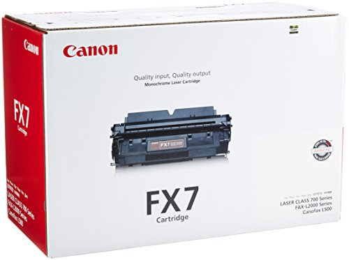 Canon FX7 7621A001AA Fax-L2000 LaserClass 710 720 730 Toner Cartridge (Black) in Retail Packaging