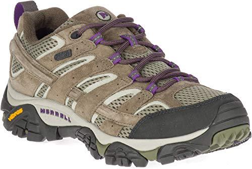 Merrell Women's Moab 2 Waterproof Hiking Shoe Olive 7.5 M US