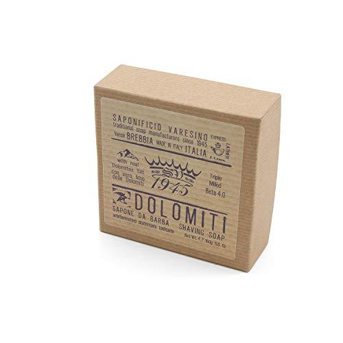 Saponificio Varesino Dolomiti BETA 4.0 Deluxe Hart Rasierseife 150g Puck