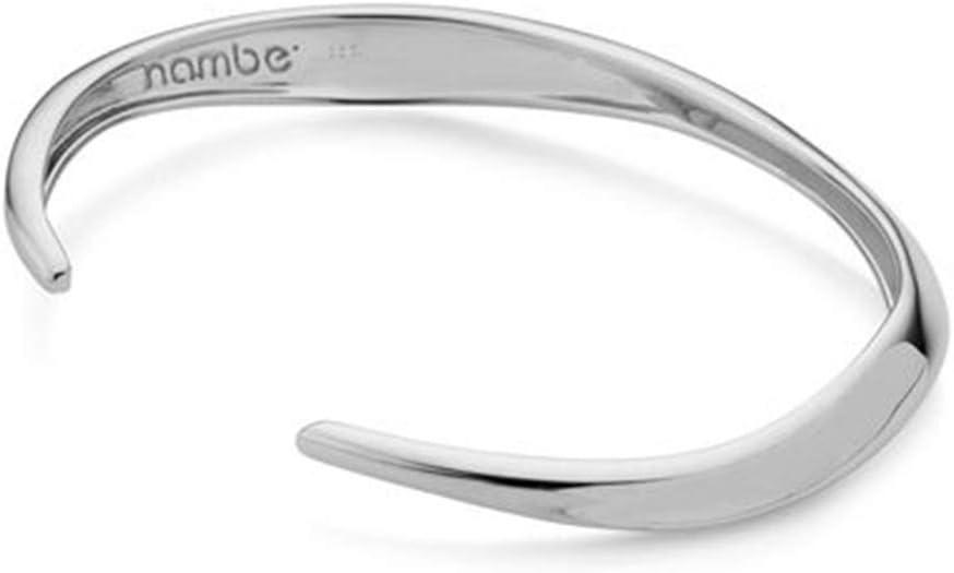Nambe Narrow Twist Cuff Bracelet