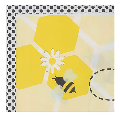 Bumble Bee Party Supplies, Yellow Paper Napkins (6.5 x 6.5 In, 150 Pack)
