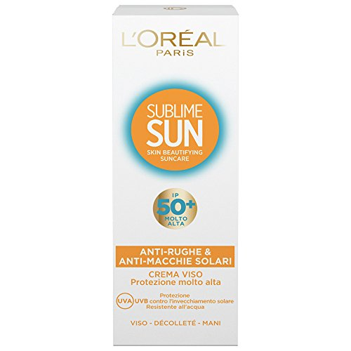 SUBLIME SUN - FACE CREAM WITH SUNSCREEN IP 50+