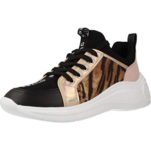 Guess Damen Laufschuhe FAP12 Sneaker SPEERIT Schwarz 37 EU