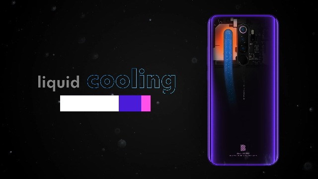 "BLU G90 Pro – 6.5"" HD+ Gaming Smartphone, Quad Camera, 128GB+4GB RAM – Purple Haze"