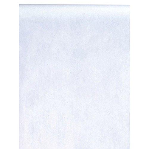 Santex Tischläufer Deko-Vlies Edle Tafel 0,3 x 10 m weiß