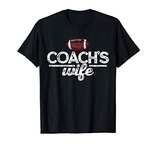 American Football Trainer Frau Vintage T-Shirt