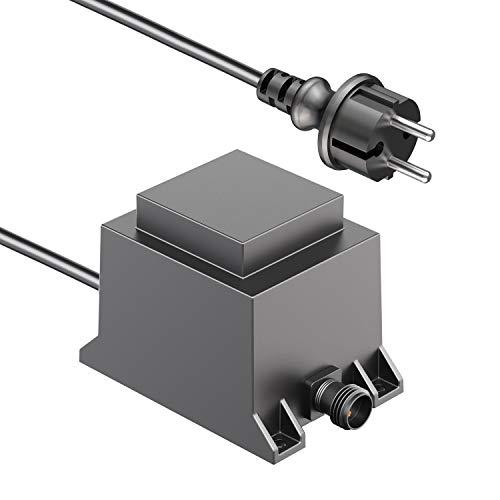 ledscom.de 40W LED Trafo-Netzteil für IP44 Stecksystem NEMO Transformator 12V AC