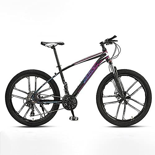 BMDHA MTB,Bicicleta De Montaha 27 Velocidades 26 Pulgadas,Bicicleta Rueda De Diez Cuchillos NeumáTicos Antideslizantes Resistentes Al Desgaste