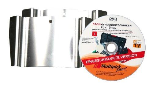 Multipick Original: Türfallengleiter im Set 20 und 25 mm inkl. DVD Profi-Anleitung