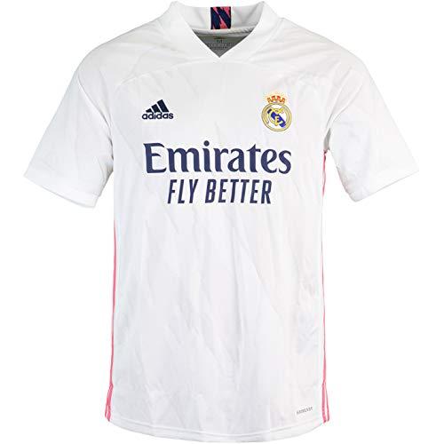 adidas Camiseta del Real Madrid (L, blanco)