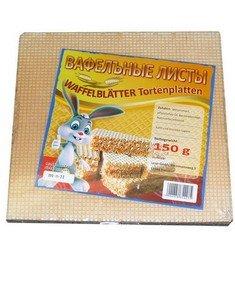 Waffelblätter/Tortenplatten 3er Pack (3 x 150 g) 15 Stück