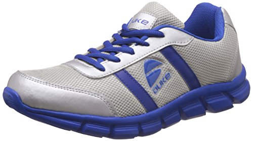 Duke Men's Silver and Royal Blue Running Shoes -7 UK/India (41 EU)(8...