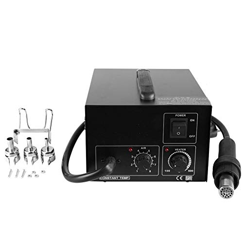 Learn More About Zerone 350W Hot Air Gun Desoldering Station SMD Rework Station with 3pcs Nozzles(US...