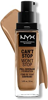 NYX PROFESSIONAL MAKEUP Can't Stop Won't Stop Full Coverage Foundation, Golden 13