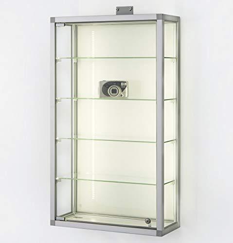MHN - Vitrina de pared con cerradura para colgar en la pared,...
