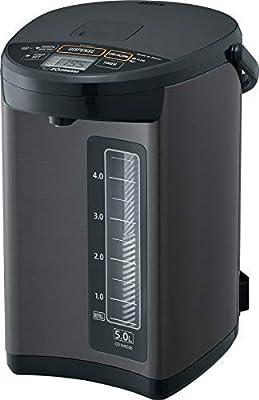 Zojirushi CD-NAC50BM Micom Water Boiler & Warmer, Made in Japan, 5.0-Liter, Metallic Black (Renewed)
