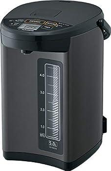 Zojirushi CD-NAC50BM Micom Water Boiler & Warmer Made in Japan 5.0-Liter Metallic Black  Renewed