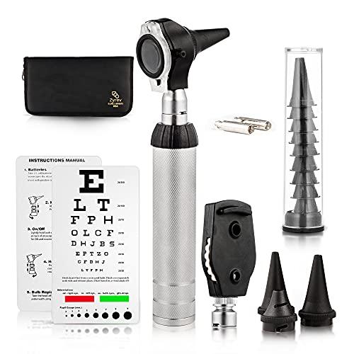 ZYREV ZetaLife 2 in 1 Ear Scope Set - Multi-Function Otoscope for Ear, Nose & Eye Examination
