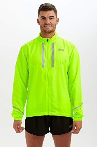 Time To Run Chaqueta Pace Ligera y Resistente al Viento para Correr/Ciclismo Hombre XL Lima