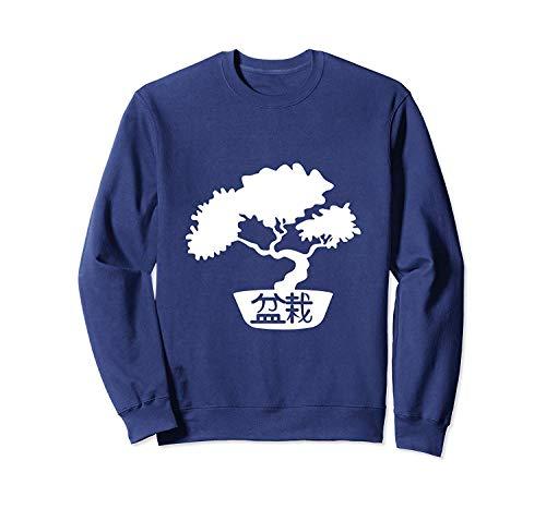B.o.nsai tre.e In B.onsai P.OT Japanese Z.en S.p.irit M.editation Sweatshirt - Front Print Sweatshirt For Men and Women
