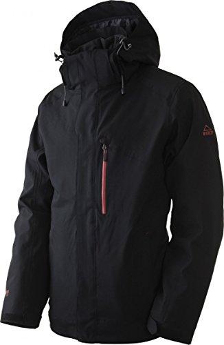 McKinley Sorocaba Herren Jacke Doppeljacke 3in1 Jacke Black 220582-050, Größe:M