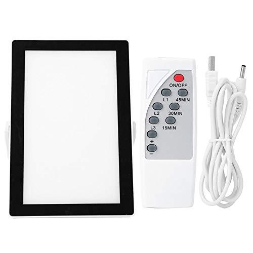 Alupre L-E-D-Lichttherapie-Lampe-Timing mit Fernbedienung Behandeln Depression USB-Aufladung 5V