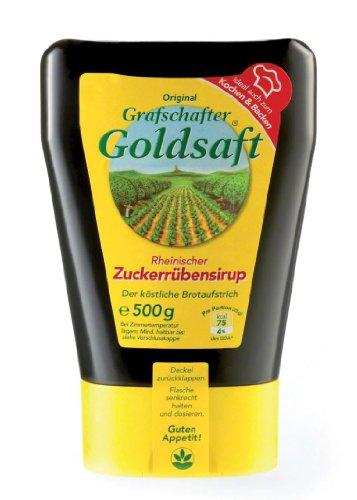 Grafschafter Goldsaft Zuckerrübensirup - 1 x 500 g Flasche