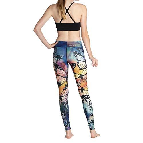 DSCX Damen Leggings Yogahosen Outdoor Stretch Fashion Große Größe Schnelltrocknende Bequeme elastische Fitness Fitness Yoga Strumpfhose elastischer atmungsaktiver Lauftanz Dunkelgrau XL