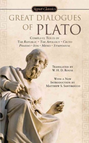 Great Dialogues of Plato (08) by Plato [Mass Market Paperback (2008)]