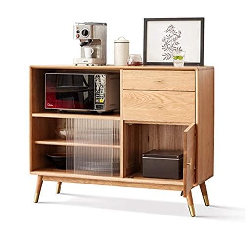 DXCSAA Sideboards Sideboard Tea Cabinet Modern Minimalist Home Kitchen Storage Cabinet for Living...