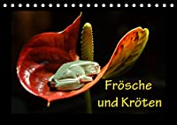 Froesche und Kroeten (Tischkalender 2022 DIN A5 quer): Froesche und Kroeten (Monatskalender, 14 Seiten )
