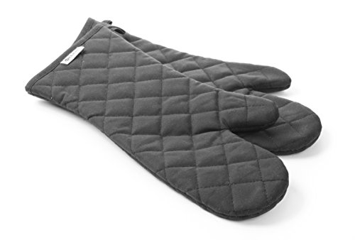 HENDI Ofenhandschuhe, Feuerfeste Baumwolle, Stückzahl: 2, CE-konform, Grillhandschuhe, 380mm