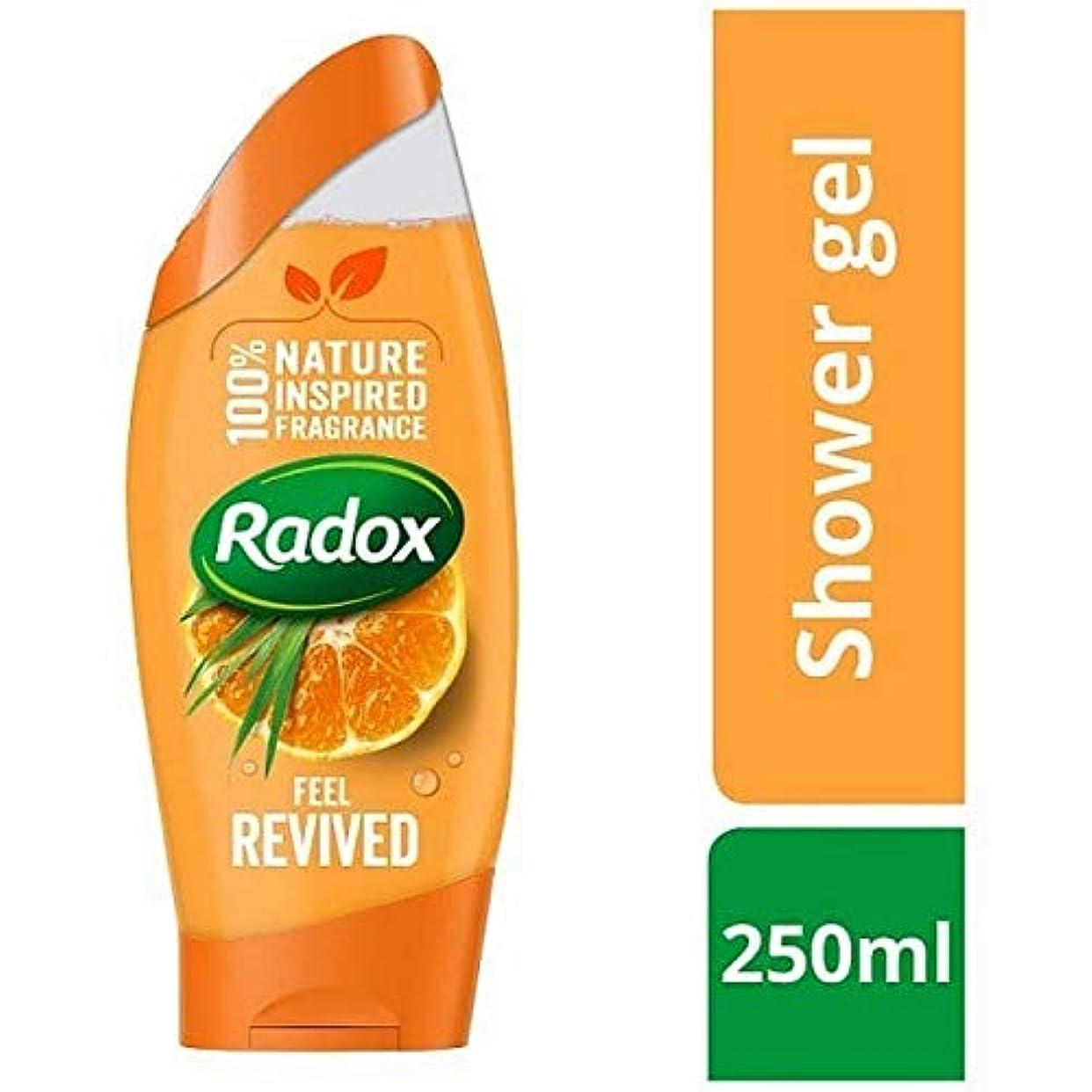 あからさま脚本デコレーション[Radox] Radox感触復活シャワージェル250ミリリットル - Radox Feel Revived Shower Gel 250ml [並行輸入品]