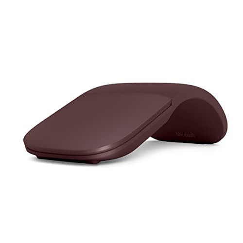 Surface Arc Mouse – Burgundy (Renewed)