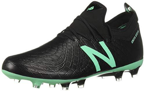 New Balance Tekela Magia FG/Hybrid, Bota de fútbol, Black-Neon Emerald, Talla 8,5 USA (42 EUR)